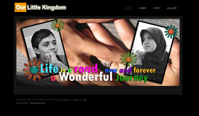 New Look of OurLittleKingdom's Start Page
