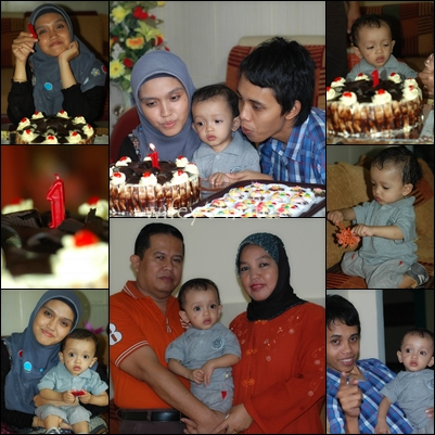 Akhtar 1st B'day Party